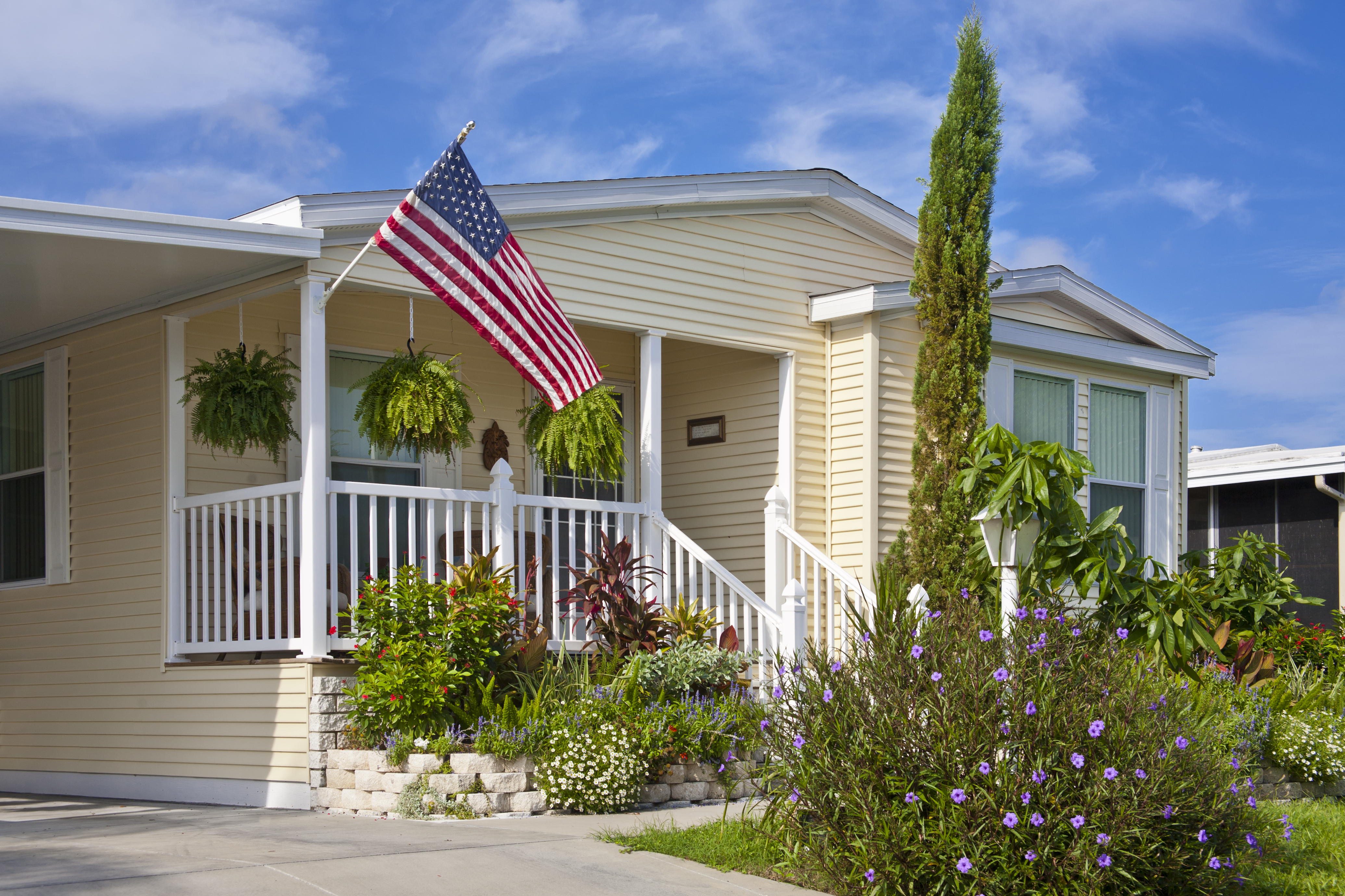 Purchase or refinance Mobile home loans
